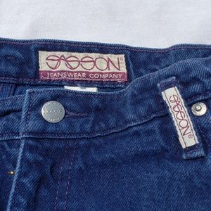 "Vintage Sasson Jeans 33"" Waist Retro Mom 80's"